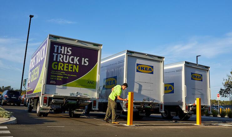 ANC Ikea EVs